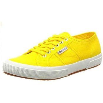 Scarpe Unisex bambino Sneakers basse Superga 2750 J Giallo