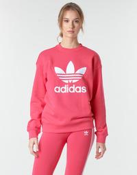 Abbigliamento Donna Felpe adidas Originals TRF CREW SWEAT Rosa