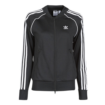 Abbigliamento Donna Giacche sportive adidas Originals SST TRACKTOP PB Nero