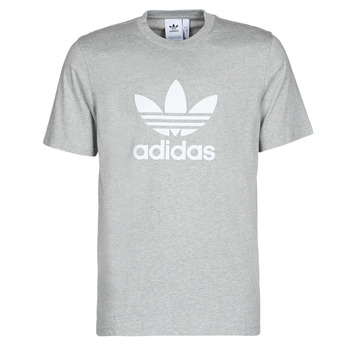 Abbigliamento Uomo T-shirt maniche corte adidas Originals TREFOIL T-SHIRT Bruyère / Grigio / Moyen