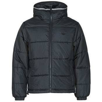 Abbigliamento Uomo Piumini adidas Originals PAD HOODED PUFF Nero