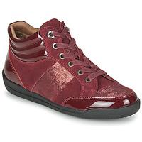 Scarpe Donna Sneakers alte Damart 57079 Bordeaux