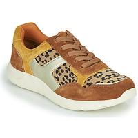 Scarpe Donna Sneakers basse Damart 62328 Beige / Giallo