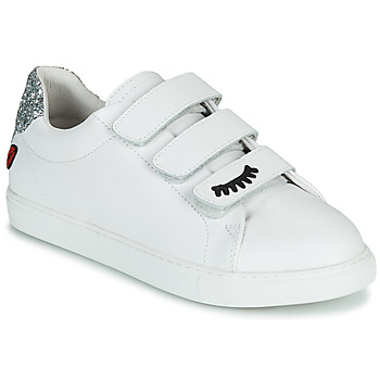 Scarpe Donna Sneakers basse Bons baisers de Paname EDITH EYES Bianco