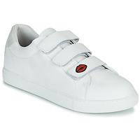 Scarpe Donna Sneakers basse Bons baisers de Paname EDITH LEGENDE Bianco