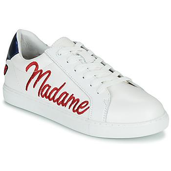 Scarpe Donna Sneakers basse Bons baisers de Paname SIMONE MADAME MONSIEUR Bianco