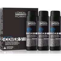 Bellezza Uomo Maschere &Balsamo L´oreal shampoo Homme Cover 5' 3x 50ml Tono 4 hair color Homme Cover 5' 3x 50ml Tono 4