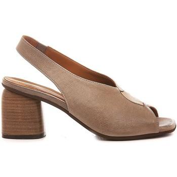 Scarpe Donna Sandali Mat:20 Scarpe-Sandali Donna Pelle Taupe 6000 taupe