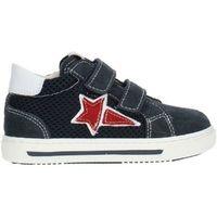 Scarpe Bambino Sneakers basse Nero Giardini P923450M /207 Blu