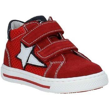 Scarpe Bambino Sneakers alte Nero Giardini P923450M /616 Rosso