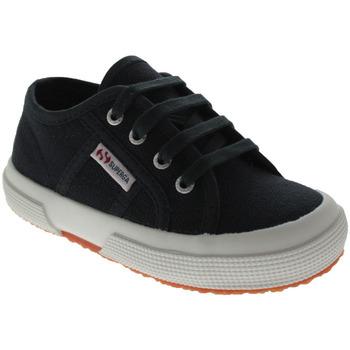 Scarpe Unisex bambino Sneakers basse Superga 2750 J Blu
