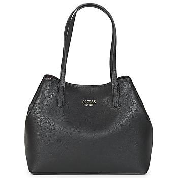 Borse Donna Tote bag / Borsa shopping Guess VIKKY TOTE Nero