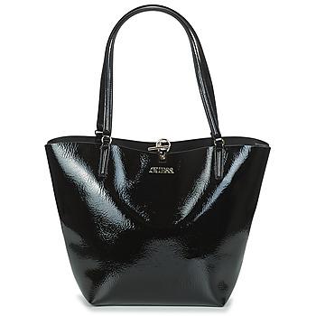 Borse Donna Tote bag / Borsa shopping Guess ALBY TOGGLE TOTE Nero