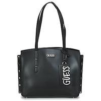 Borse Donna Tote bag / Borsa shopping Guess TIA GIRLFRIEND CARRYALL Nero