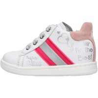 Scarpe Bambino Sneakers Falcotto - Polacchino bianco ATLEY-1N04 BIANCO