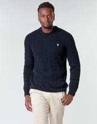 Abbigliamento Uomo Maglioni Timberland LAMBWOOL CABLE Marine