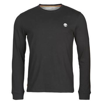 Abbigliamento Uomo T-shirts a maniche lunghe Timberland LS Dunstan River Tee Nero