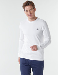 Abbigliamento Uomo T-shirts a maniche lunghe Timberland LS Dunstan River Tee Bianco