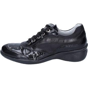 Scarpe Bambina Sneakers basse 1A Classe Alviero Martini sneakers vernice pelle Nero