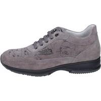 Scarpe Bambina Sneakers basse 1A Classe Alviero Martini sneakers camoscio Grigio