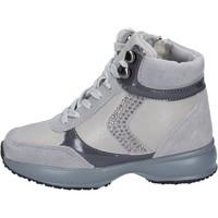 Scarpe Bambina Sneakers basse Lumberjack sneakers camoscio pelle sintetica grigio