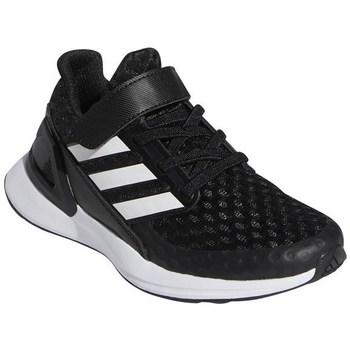 Scarpe Unisex bambino Running / Trail adidas Originals Rapidarun Bianco, Nero