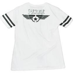 Abbigliamento Uomo T-shirt maniche corte Malu Shoes T-Shirt maglietta uomo man collo rotondo e maniche corte con de BIANCO