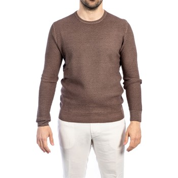 Abbigliamento Uomo Maglioni La Fileria 57186/28413/410 Maglia Uomo Uomo Tortora Tortora