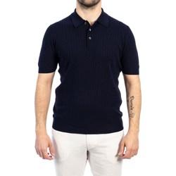 Abbigliamento Uomo Polo maniche corte La Fileria 57130/20634/598 BL Polo Uomo Uomo Blu Blu