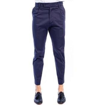 Abbigliamento Uomo Chino Golden Craft 1957 196/Z003 BLU Pantalone Uomo Uomo Blu Blu
