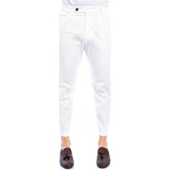 Abbigliamento Uomo Chino Golden Craft 1957 195  A001 Pantalone Uomo Uomo Bianco Bianco