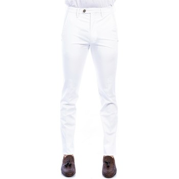 Abbigliamento Uomo Chino Michael Coal BRAD/2563 L 282 B.CO Pantalone Uomo Uomo Bianco Bianco