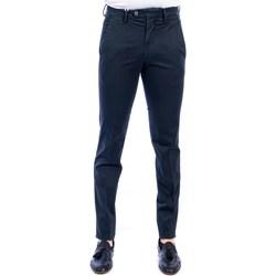 Abbigliamento Uomo Chino Michael Coal BRAD/2563 16 NAVY Blu