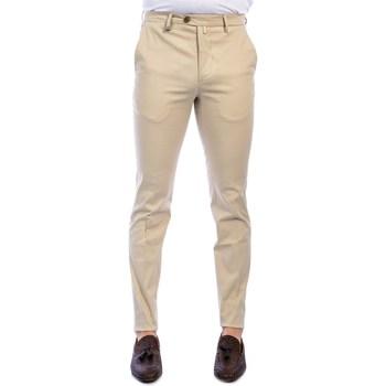 Abbigliamento Uomo Chino Barbati P-ALAN/S 120391 BEI Pantalone Uomo Uomo Beige Chiaro Beige Chiaro