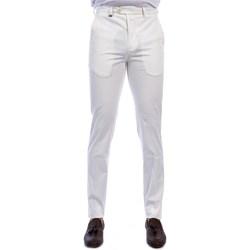 Abbigliamento Uomo Chino Barbati P-ALAN/S 120391B.CO Pantalone Uomo Uomo Bianco Bianco