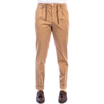Abbigliamento Uomo Chino Barbati GREGORY/031/43 BEIGE Pantalone Uomo Uomo Cognac Cognac