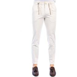Abbigliamento Uomo Chino Barbati GREGORY/031/13 PANNA Pantalone Uomo Uomo Panna Panna