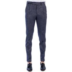 Abbigliamento Uomo Pantaloni da completo Barbati DODO/LC 581 01 BLU Pantalone Uomo Uomo Blu Blu