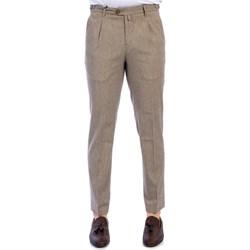 Abbigliamento Uomo Pantaloni da completo Barbati BENNY/LC 851 02 MORO Pantalone Uomo Uomo Beige Beige
