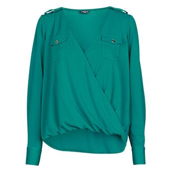 Abbigliamento Donna Top / Blusa Marciano SALLY CREPE TOP Verde