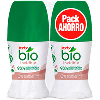 Bellezza Deodoranti Byly Bio Natural 0% Invisible Deo Roll-on Lote 2 Pz 2 u