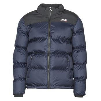 Abbigliamento Piumini Schott UTAH Marine / Nero