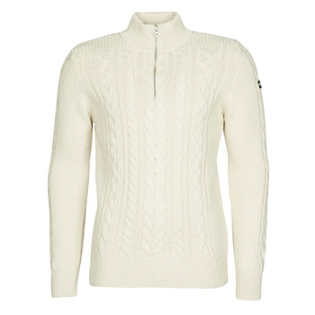 Abbigliamento Uomo Maglioni Schott PL BRUCE2 Ecru