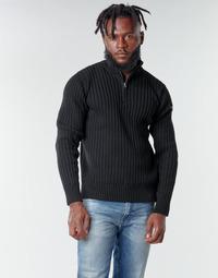 Abbigliamento Uomo Maglioni Schott PLECORAGE2 Nero