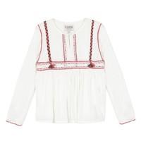 Abbigliamento Bambina Top / Blusa Chipie 8R12014-19 Bianco