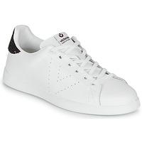Scarpe Donna Sneakers basse Victoria TENIS PIEL Bianco / Bordeaux