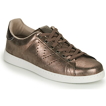 Scarpe Donna Sneakers basse Victoria TENIS METALIZADO Oro