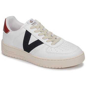 Scarpe Sneakers basse Victoria SIEMPRE PIEL VEG Bianco / Blu / Rosso