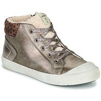 Scarpe Bambina Sneakers alte Victoria HUELLAS METAL Argento
