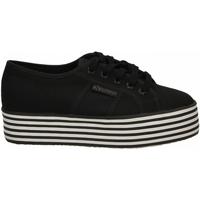 Scarpe Donna Sneakers basse Superga 2790-MULTICOLOR COTW a1a-black-black-white-st